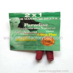 0.2usd paradise ultra plus male adult products capsules with shipping