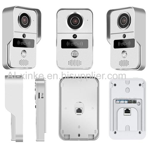 WiFi Video Door Phone Camera Doorbell Intercom System Support Unlock Doorlock