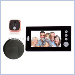 Wireless Digital Peephole Viewer Door Camera With LCD Screen
