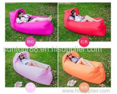 Inflatable Lounger sofa chair Lazy Hangout Couch Bed with sunshade