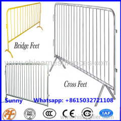 Crowd Control Protable Movable Fencing