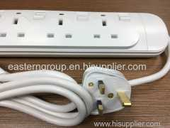 Factory Price Extension Electric Socket Power Strip with 2 USB SASO
