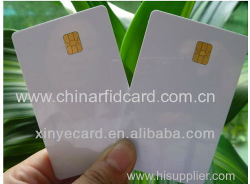 Wholesale RFID Contact IC Smart Card FM4442/ISSI4442 Chip Manufacturer in China