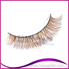 Eyelashes mixed colors of fox fur eyelash real fox fur eyelash