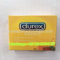 DU REX select natural latex condoms for long time sex
