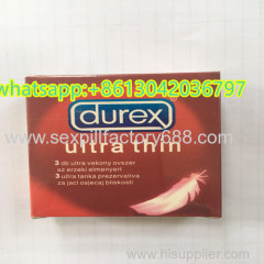 du rex ultra thin sex adult products condom with acceptting paypal