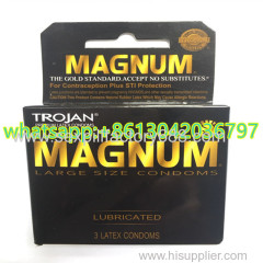 USA HOT selling TROJAN MAGNUM condoms for men sex