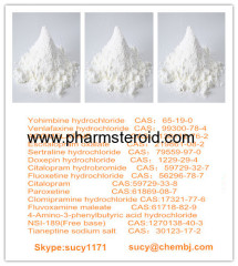 White Powder Anti Depression Escitalopram Oxalate CAS:219861-08-2 Pharmaceutical