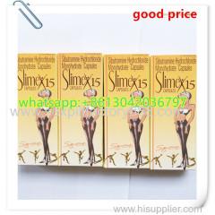Slimex 15mg adelgazar cápsulas de dieta de la medicina