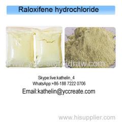 Selective Estrogen Receptor Modulator(SERMs) Raloxifene Hydrochloride CAS 82640-04-8 Anti Estrogen