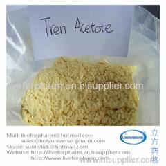 99% Quality Trenbolonee Acetate Yellow Tren Powder CAS10161-34-9