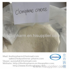 Clomiphenes citrato Clomivid anti-Estrogen Clomiphenes CAS911-45-5