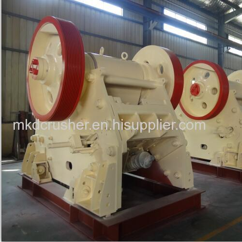Non-welded Deep Chamber Jaw Crusher