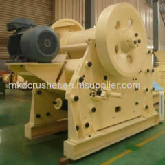 Non-welded construction jaw crusher