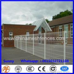 high quality galvanized 3d 2.1x1.53m bending wire mesh panel fencing