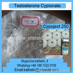 Injectable Ana bolic Steroids Testosterone Cypionate (Test C/Cyp)Semi-Finished Liquid Cypoject 250