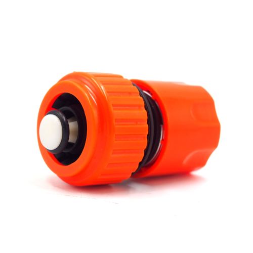 Plastic 3/4  Snap-In Quick Connector with waterstop