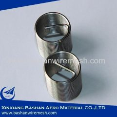 China stainless steel screw thread coils insert