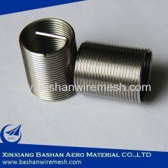 304 316 Wire Thread Insert Heli-Coil-Type Screw Thread Insert