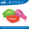 Wholesale NTAG213 silicone wristband