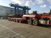Multi axle trailer Modular trailer Scheuerle SPMT