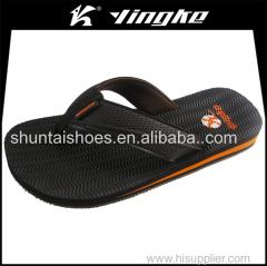 Fancy cheap men thong sandals thin sole beach designer flip flops