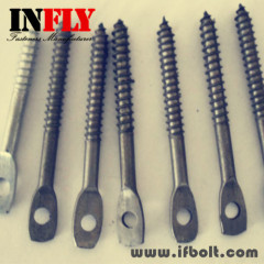 Flat head screw stud bolt Flat head with hole screw non-standard bolt-Infly Fasteners