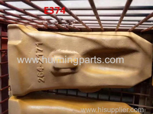 Chinese manufacturer of 264-2171 cat E374 bucket tooth with high