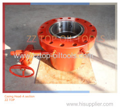 Wellhead API 6A Casing Head A Section for Casing 13 3/8""