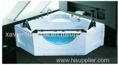 cornor acrylic massage bathtub