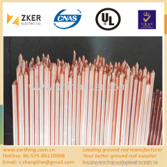 copper clad pointed grounding rod