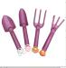 New Product for 2017 plastic mini garden tool set plastic mini rakes kids mini garden plastic tools and bag
