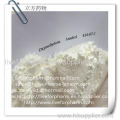 Oxymetholone * Anadrol * Anapolon * CAS 434-07-1 * esteroide anabólico-androgénico