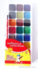 semi moist watercolor paint set