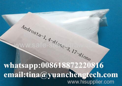 Steroids Powder Androsta1 4-diene3 17 dione/Androstadiendione