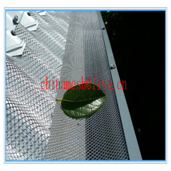aluminium gutter guadrd screen