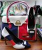 colore cuciture tacchi alti con borse