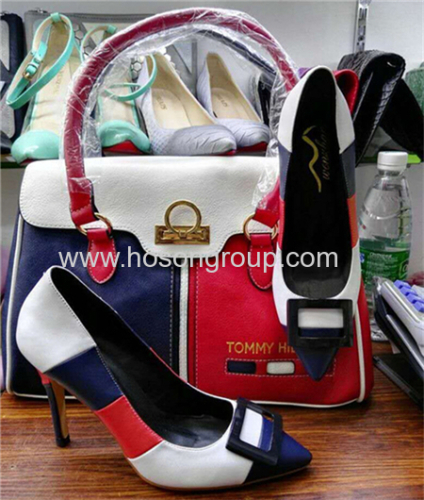 Fashion Women High Heel Shoes and Bags