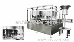 Vials bottles filling and capping machine