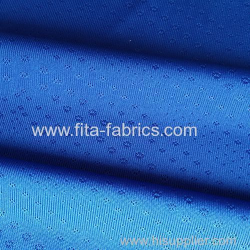 Coolmax with quick dry jacquard fabric