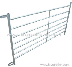 Loop Coupling Galvanized Interlocking Sheep Hurdle