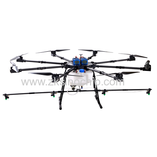 8 motor agriculture drone sprayer with 20 L payload box for pesticides