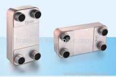 HRALE B3-63A BRAZED PLATE HEAT EXCHANGER