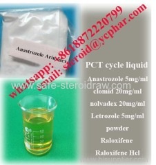 PCT cycle 99.80% Steroid Hormone Anastrozole Arimidex 5mg/ml