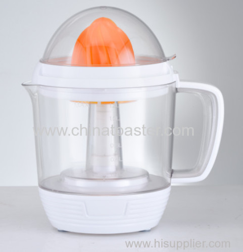Plastic orange citrus juicer