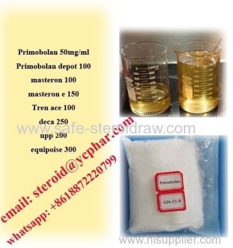 Methenolone Acetate Steroid injectables Primobolan 50mg/ml