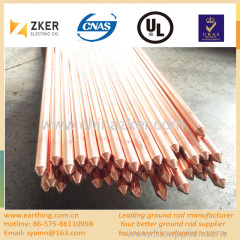 copper clad tipped ground rod dia 25mm