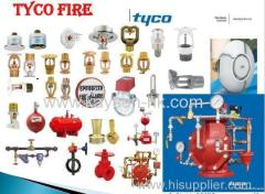 UL LISTED TYCO FIRE SPRINKLER SYSTEM