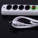 4 Outlets Multiple Electrical Extension Power Strip Socket