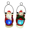 Resin Santa Nite Lite Xmas LED Decoration Christmas Santa Claus Night Light